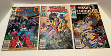 Transformers the movie comic complete 3 issue run 1986