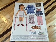 PAPER DOLLS & CLOTHES FRIENDS FOREVER MATILDA JANE COLLECTION MJC SET 10 SHEETS