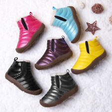 New Kid's Boy's Girl's Winter Warm Snow Boots Casual Running Shoes Contton Shoes