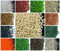 CHOOSE COLOR! 20g 8/0 (2.9mm) Seed Beads Rocailles Preciosa Ornela Czech Glass
