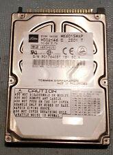 "Toshiba Ide Hard Disk of 6007Mb MK6015MAP 4200rpm Ata -66  2,5"""""