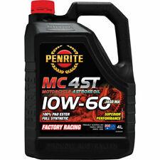 Penrite MC-4ST PAO & Ester Motorcycle Oil 10W-60 4 Litre