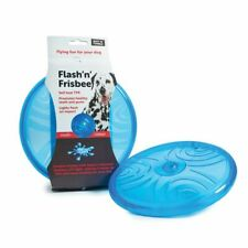 Frisbee LED Motion Activated Dog Frisbee Puncture Resistant Ruff n Tumble 20cm