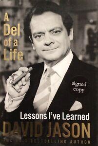 DAVID JASON AUTHENTIC SIGNED A DEL OF A LIFE BOOK AFTAL#198