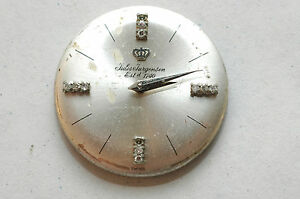 Jules Jurgensen movement Diamond dial,hands  17 jewel   4parts