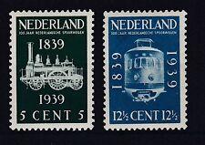 Niederlande 1939 mit Falz MiNr. 334-335