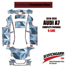 3M PRO Series PreCut Paint Protection Clear Bra Kit for Audi A7 S-LNE  2019-2020