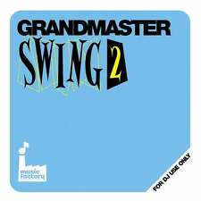 Mastermix Music Factory Grandmaster Swing Vol 2 DJ Megamixed Music Party CD