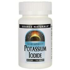 Potassium Iodide Iodine 32.5mg 120 Tablets Supports Underactive Thyroid Function