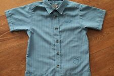 Jack Wolfskin Jungen Sun Shirt schnelltrocknend- Hemd Gr.128, blau - neuwertig