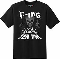 Funny F-ing Ten Pin Bowling Sports  T Shirt  New Graphic Tee