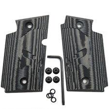 Sig Sauer P938 G10 Grips W/ Screws Skull Texture Grey/Black Color H4-SK-5