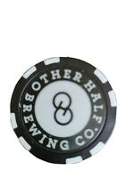 Other Half brewing, craft beer brewery POKER CHIP Brooklyn New York NYC