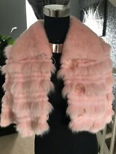 Real Fur Mink & Fox Cape , Stole