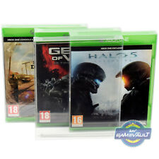 3 x Box Protectors for Xbox One / X Games 0.4mm Plastic Display Case Perfect Fit