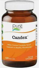 Pure Essence CANDEX 120 Vegi Caps Controls Candida Yeast