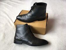 Mens Size 11 Leather Brogue Ankle Boots By Redfoot Excellent Condition ⭐️⭐️