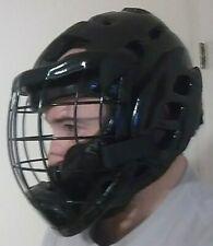 NEW! Martial Arts Foam Headgear Head guard & Metal Face Cage - Karate TKD MMA