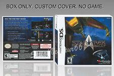 NINTENDO DS : STAR TREK. ENGLISH. COVER CUSTOM + ORIGINAL BOX. (NO GAME).