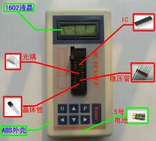 New Transistor Tester Detect IC Tester Meter Maintenance Tester FET MOS PNP NPN