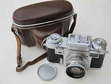 Zess Ikon Contax rangefinder IIIa color dial 50mm f:1.5 Carl Zeiss Sonnar lens