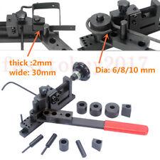 DIY Manual Press Brake Metal Bending Machine for Curving Steel Wire Iron Piece
