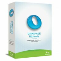 Scanning OCR Nuance Omnipage Ultimate captures data PDF documents converting