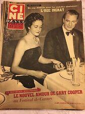 Ciné Revue 19 du 8 mai 1953 : Gary Cooper/Gisèle Pascal - Robert Taylor/Blyth