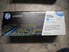 New Genuine HP Color Laserjet 2550 2820 2840 Cyan Toner Cartridge Q3971A HP 123A