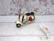 Clayre & Eef Metall Vintage Deko Roller Moped