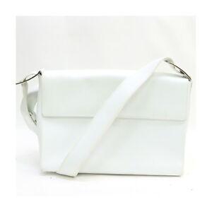 Ferragamo Shoulder Bag  Whites Leather 2204953
