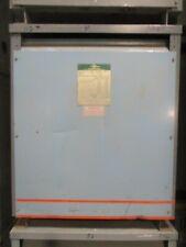 ZINSCO 113-415-8HI, 112.5 KVA, 3Ø, 480 X 120/208 VOLT TRANSFORMER O/S - T287