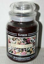 Yankee Housewarmer Scented Candle Christmas Berries 22oz