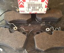 Genuine Citroen Brake Pads part no 95661871