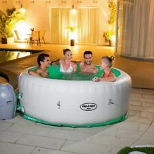 Inflatable Hot Tub Portable Spa 4-6 Person Bubble Jets Massage Led Light Jacuzzi