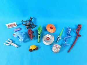 Lot of Weapons and Armor Masters of the Universe Classics MOTU Mattel