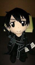 Aniplex Reki Kawahara 2015 Sword Art Online Kirito 9in Plush anime