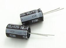 1pcs NICHICON  68uF 420V 16x25 PZ High Voltage Electrolytic Capacitor 68UF/420V