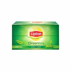Lipton Pure & Light Green Tea Bags 25 Pieces Free Shipping