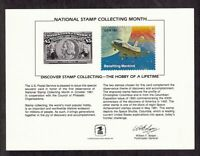 """1971 Stamp Collecting """"Hobby of a lifetime"""" Columbia Space Shuttle PS-35 SC72"""