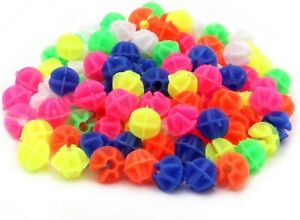 Spoke Decorations Bicycle Wheel Spokes Plastic Beads 108Pcs