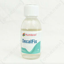 Humbrol DecalFix - Large 125ml Decal Fix Modelling Adhesive Glue Lacquer Clear