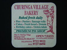CHURINGA VILLAGE BAKERY MT DANDENONG RD KILSYTH 97229922 COASTER