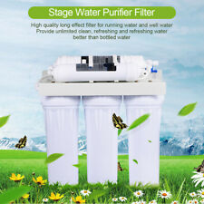 5 Stages RO Reverse Osmosis Drinking Water Filter Purifier Under Sink System