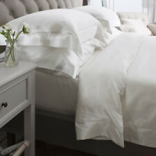 Jasmine Silk 6PCs 100% Charmeuse Silk Duvet Cover Set (IVORY) Double