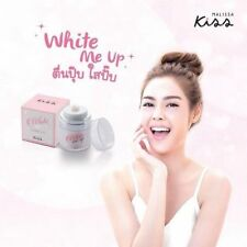 1 Malissa Kiss White Me Up Sleeping Pack Collagen Cream Mask 30ml Free+Track