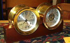 Chelsea's Boston Series Seth Thomas Clock and Barometer Set-----Nice Vintage Set