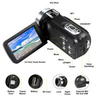 Camcorder Video Camera 2.7K Full HD 30MP Vlogging for YouTube 16X Digital Zoom