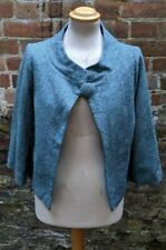 Anni Kuan Turquoise Blazer Jacket Size Medium UK