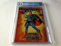 SUPERMAN 233 CGC 5.5 AWESOME NEAL ADAMS COVER WORLD OF KRYPTON DC COMICS